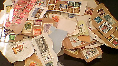 Mixed Lot of Approx. 200 Mainly GB Stamps - All Used (Many HV's !!)