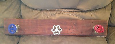 Rustic Hand Made Man Cave Decor Vintage Outdoor Water Faucet Faucets Coat Rack