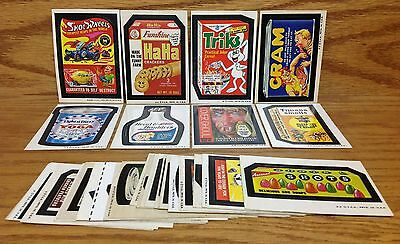 1974 Topps Wacky Packages 5th Series 5 Complete Set 32/32 Tijuana Smells Cram