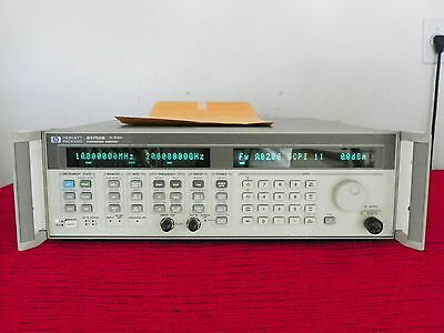 AGILENT HP 83752B .01 - 20 GHz SYNTHESIZED SWEEPER 1E5 w/ cal data, WARRANTY