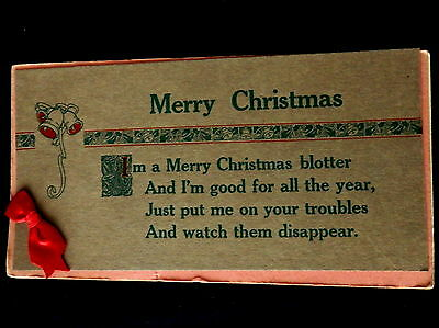 MERRY CHRISTMAS Blotter  for the Whole Year