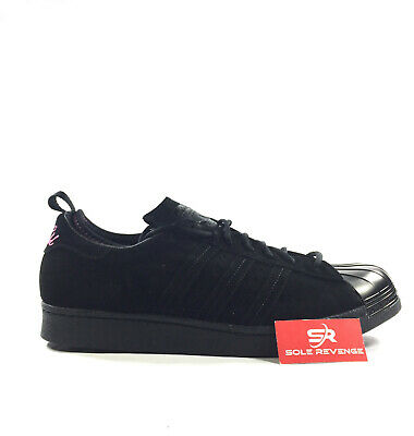 factory authentic d70c9 3aa83 New Mens Adidas Originals X Eddie Huang Superstar 80s F37748 HUANGS ...