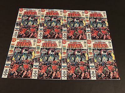 The New Teen Titans 21 DC 1982 1st app Brother Blood 8 High Grade Unread Copies