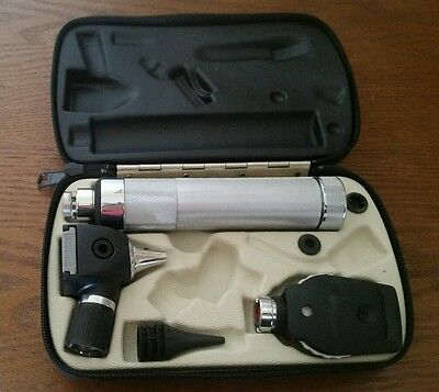 Welch Allyn 3.5v Otoscope & Ophthalmoscope Diagnostic Kit - 25000 11620 71050