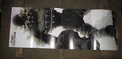 Shadow Of The Colossus Official Long Poster Ad From EGM Magazine