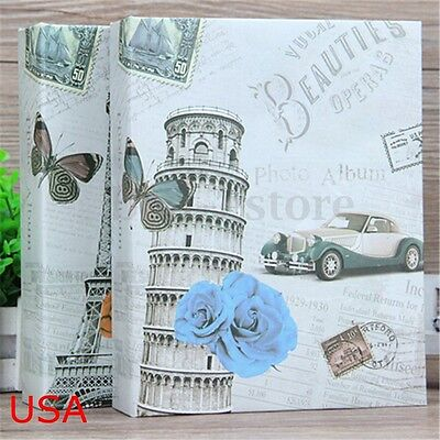 200 Picture Instax Photo Album Storage Case Family Wedding Baby Memory Film Book