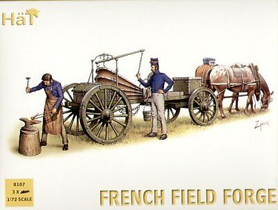 HaT 1/72 Napoleonic French Field Forge # 8107