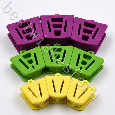 9 Pc L/M/S Dental Rubber Silicone Mouth Prop Bite Block Cushion Opener Retractor
