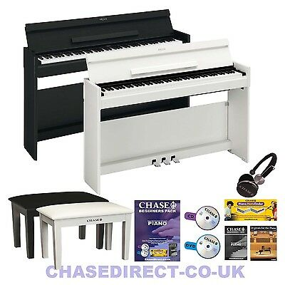 Yamaha Arius YDP-S52 Digital Electric Piano Deluxe Bundle  88 Hammer Action Keys