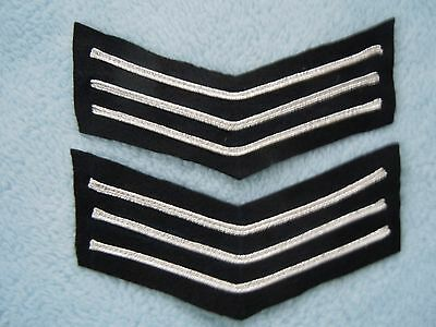 Police Sergeants Stripes/chevrons Met Police Type County & Constabulary. Quality