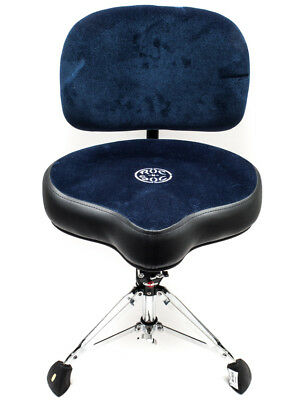 Roc n Soc Cycle Stool & Backrest - Blue