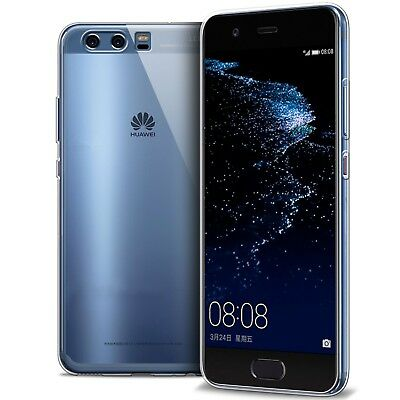 Coque Pour Huawei P10 Crystal Souple TPU Gel Transparent Extra Fin 1mm