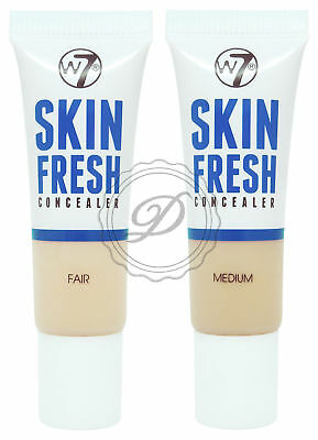 W7 Skin Fresh Concealer - Choose From 2 - Fair Medium Natural Spots Cover