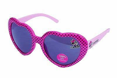 MINNIE MOUSE DISNEY Pink Polka Dot 100% UV Shatter Resistant Sunglasses NWT $12