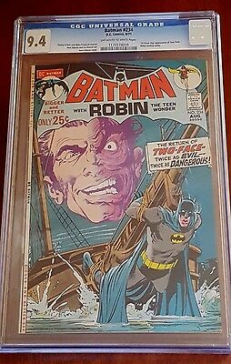 Batman #234 (Aug 1971) - CGC 9.4 - 1st Appearance of Silver age Two-Face!