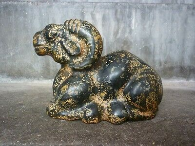 Chinese antiques,noble collection,hand-carved,old jade,sheep furnishing articles
