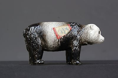 CRESCENT HOLLOWCAST LEAD ZOO SERIES ANIMALS - PANDA - Superb with Price Label.!
