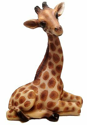 "10"" Tall Safari Giraffe Wild Life High Hopes Figurine Statue"