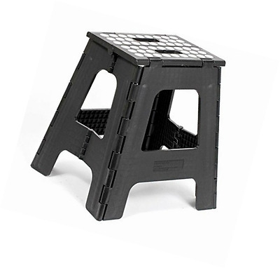 Enjoyable Kikkerland Rhino Tall Folding Step Stool Black 31 95 Unemploymentrelief Wooden Chair Designs For Living Room Unemploymentrelieforg