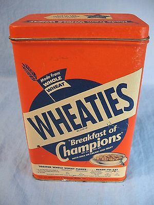 Wheaties Breakfast of Champions Tin