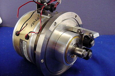 Massive Hi-Tech Etec Systems, Inc. Dc Motor With Tach - Tested And Operational