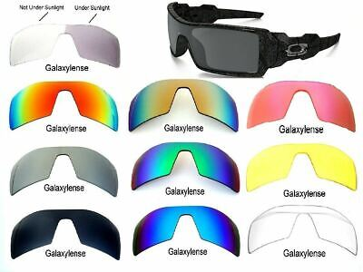 Galaxy Replacement Lenses For Oakley Oil Rig Multi-Color Polarized 100% UVAB