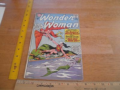 Wonder Woman 144 comic G+ Silver Age 1960's Mer-Boy Bird-Boy