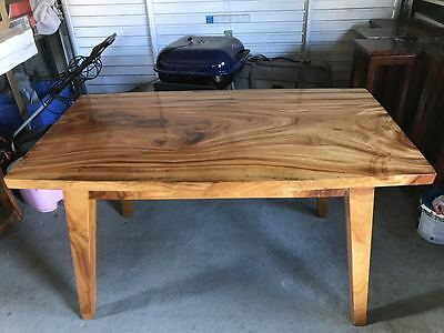Camphor wood table