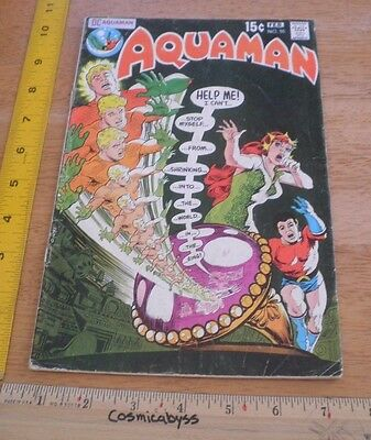 Aquaman 55 comic VG 1970's Mera Aqualad