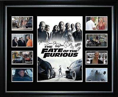 Fate Of The Furious Fast 8 Limited Edition Framed Memorabilia