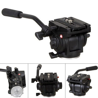 701HDV with 501PL QR Plate Pro Fluid Video Lightweight Head for Manfrotto Tripod