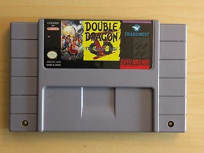 Double Dragon V SNES. GREAT CONDITION. BUT IT NOW. PLAY IT LATER. TESTED.