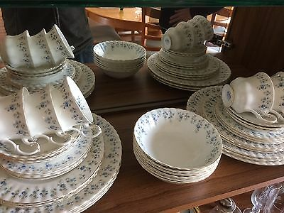 Royal Albert - Memory Lane - 36 Piece Dinner Set. Approximately 60 Years Old.