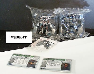 Mechwarrior - War College - Complete Set New - 'Mechs, Playmat & Dice Set