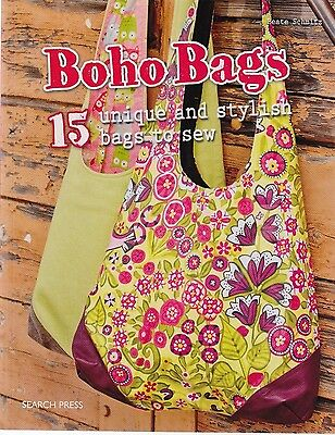 Boho Bags - 15 unique & stylish bags to sew - BOOK by Search Press