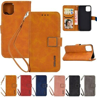 Magnet Leather Wallet Removable Flip Case Cover For iPhone XS XR 6S 6 8 7 Plus X
