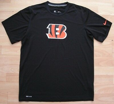 Cincinnati Bengals Nike Nfl American Football T-Shirt Top Jersey Medium Adult