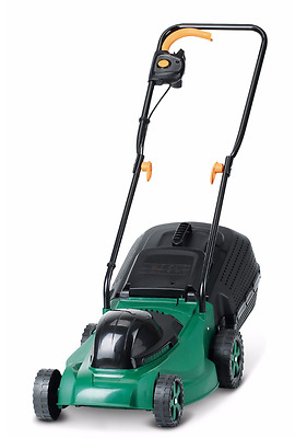 Garden Electric Rotary Roller Lawn Mower Grass Cutter Lawnmover