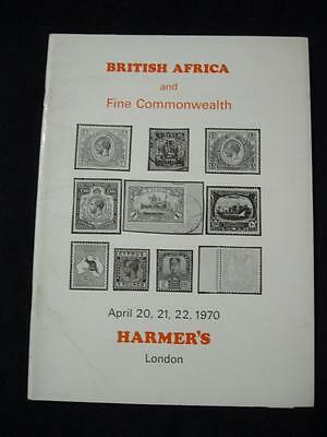 Harmers Auction Catalogue 1970 British Africa & Fine Commonwealth
