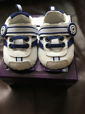 Pediped Baby's First Trainers 0-6 Months New In Box