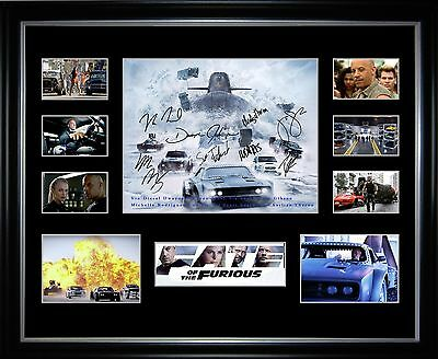 Fast 8 Fate Of The Furious Limited Edition Framed Memorabilia