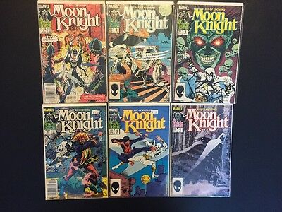 MOON KNIGHT: FIST OF KHONSHU #1, 2, 3, 4, 5, 6, Complete Set/Lot, Marvel, VF