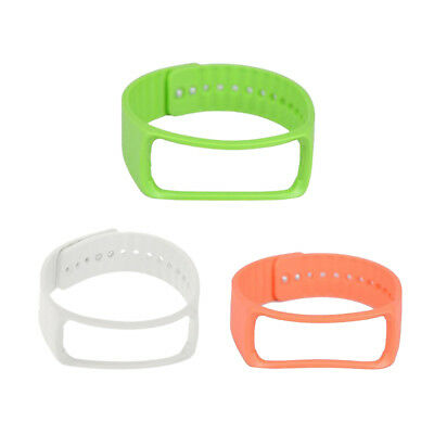 3Pack Silicone Replacement Band for Samsung Galaxy Gear Fit R350 Wrist Strap