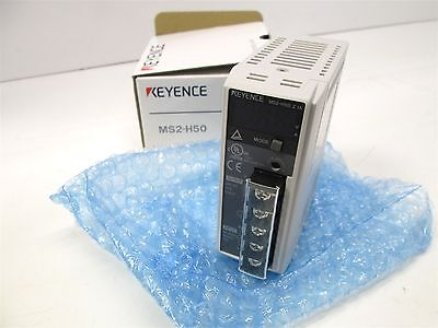 New Keyence MS2-H50 Switching Power Supply 100-240VAC 1.3A to 24VDC 2.1A 50W