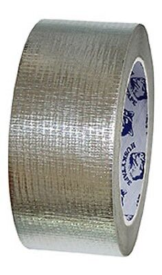Reinforced Aluminium Foil Tape 48MM X 50M HIGH QUALITY FREE POSTAGE