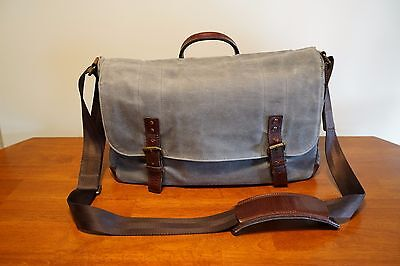 "ONA ""The Union Street"" Camera Messenger Bag *Great Condition* Smoke Gray Color"