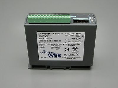 X-12S Control-by-Web Eight Relay Expansion Module for X-600 I/O Controller