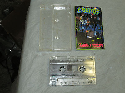 Exodus - Fabulous Disaster (Cassette, Tape) Working Great Tested 2