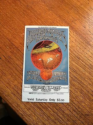 Bg171 Grateful Dead & Jefferson Airplane Fillmore Concert Poster Randy Tuten