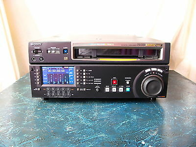 Sony Hdw-D1800 With 96 Tape Hours On Hours Meter Hdcam Hd Digital Video Record